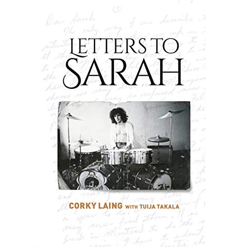Letters to Sarah audiobook cover art