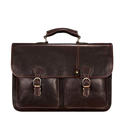 Maxwell Scott Men's Luxury Quality Italian Leather 17