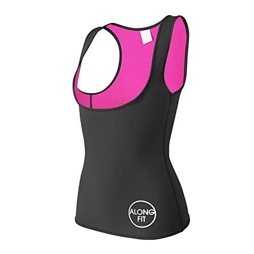ALONG FIT Sweat Vest for Women Neoprene Sauna Waist Trainer Sweat Suit for Weight Loss Waist Cincher Shaper Slimmer