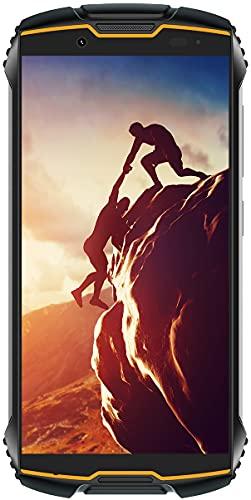 tallox Cubot King Kong Mini 2 Outdoor Handy Smartphone 4 Zoll Display, 3GB RAM 32GB interner Speicher, 3000mAh Akku, 13MP Kamera, Android 10, Dual SIM schwarz orange