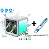 EMNDR Mini Portable Air Cooler Fan Arctic Air Personal Space Cooler The Quick