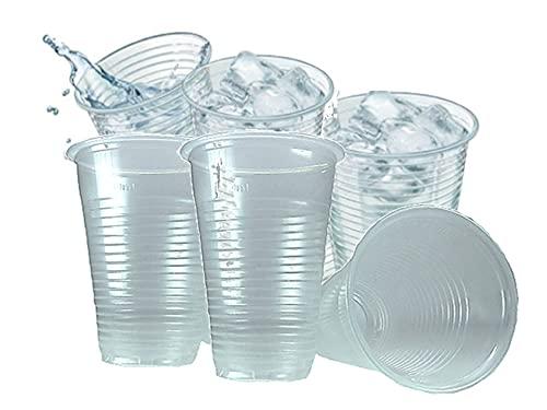 Vasos de agua de plástico 20 cl./ Pack 500 unidades