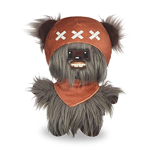 Star Wars Dog Toy Ewok Plush Rope Frisbee Dog Toy   Plush Star Wars Squeaky Dog Toy   Adorable Toys for All Dogs, Official Dog Toy Product of Star Wars for Pets