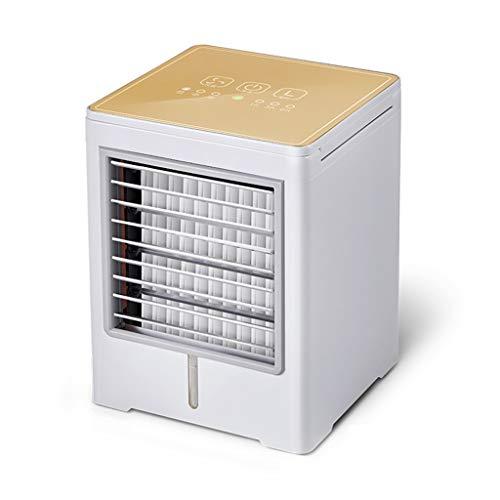 WEWE Verstellbar USB Luftkühler,persönliche Luftbefeuchter Reinigen Indoor Outdoor-Reisen Portable Leise Ventilator Verdampfung Mini Klimaanlage-b 14.5x14.5x19cm(6x6x7inch)