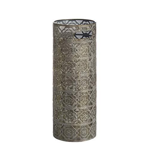 Paragüero de diseño �rabe Dorado de Metal para la Entrada Arabia - LOLAhome