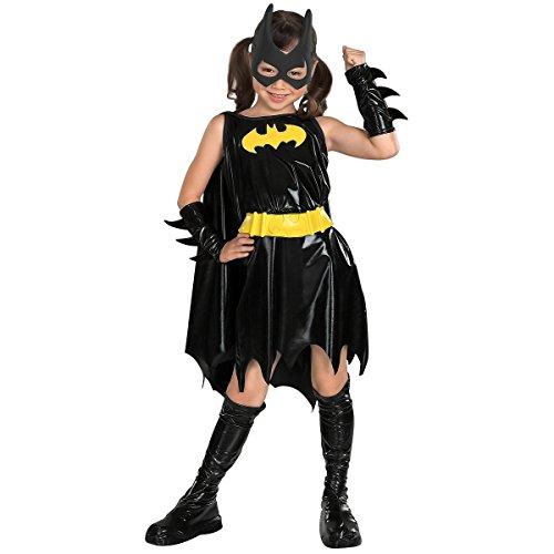 Deluxe Batgirl - Super Heroes - Childrens Costume - Medium - 132 centimetri