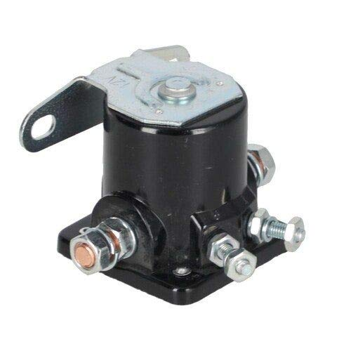 Starter Solenoid - Style - 12 Volt - 4 Terminal Compatible with Ford 701 801 800 4130 501 901 651 4110 611 641 600 2000 631 601 NAA 621 2120 2110 700 4140 650 4000 851 861 900 New Holland Versatile