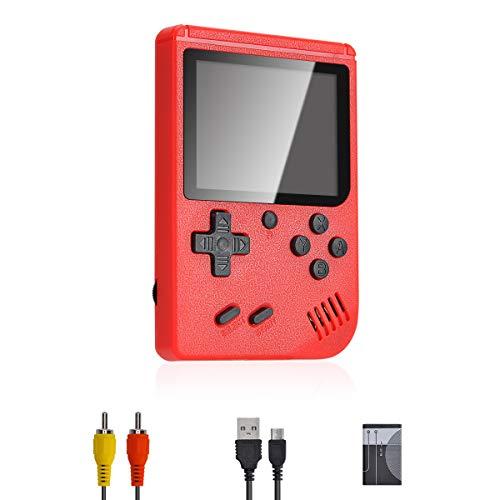 Lychee Mini Retro Consola de Juegos Portátil,Pantalla LCD de 3 Pulgadas HD...