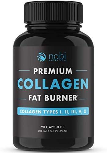 Nobi Nutrition Collagen Fat Burner Carbohydrate Blocker Metabolism Booster an Appetite Suppressant product image