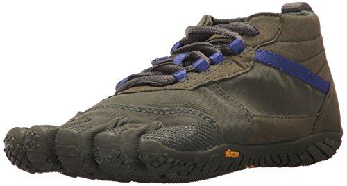 Vibram Five Fingers Women's V-Trek Trail Hiking Shoe (37 EU/7-7.5, Military/Purple)