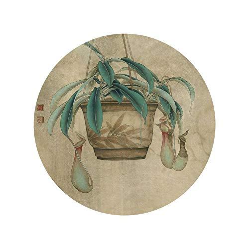 WSNDGWS Chinese stijl, Lotus, Home Decoratie, Canvas schilderijen, Geen fotolijst 20x20cm E1