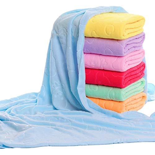 Murieo Bad Weiche Wasser absorbierende quadratische Handtuch Badetücher Set Sets