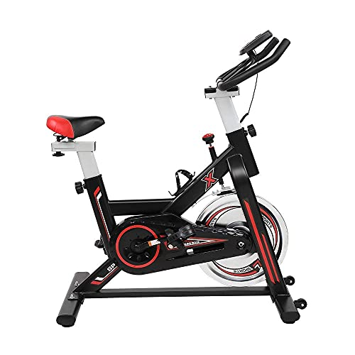 Attrezzatura per Il Fitness Cyclette per Ciclismo Indoor Nero Home Spinning Bike Outdoor Riding