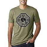 Dharma - Camiseta Manga Corta (XL, Verde Oliva)