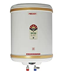 Powerpye 25 Litre Water Heater Geyser 5 Star Isi Mark,Ivory