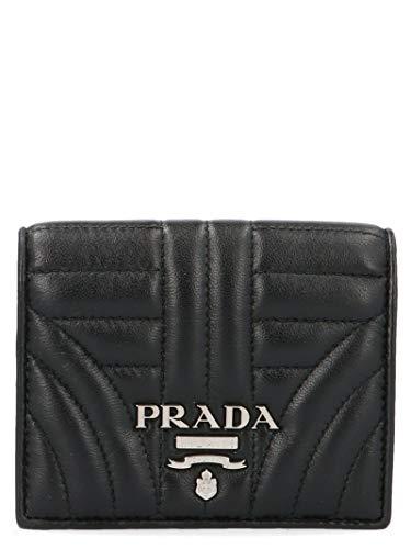 Prada Luxury Fashion Mujer 1Mv2042b0xf0002 Negro Tarjetero | Autumn-Winter 19