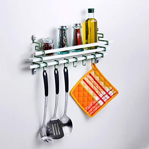 Spice Rack and Utensils Hooks