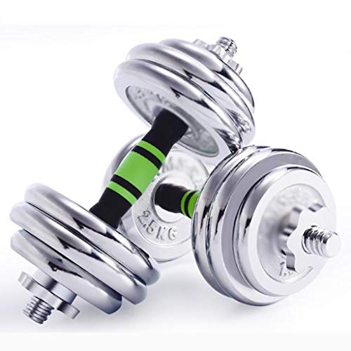 WSA Kurzhanteln Kurzhanteln, Herren-Fitnessgeräte, Rutschfester, komfortabler Griff, EIN Paar abnehmbare 35 kg