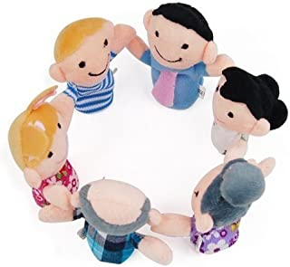 We Are Family Finger Puppet Set