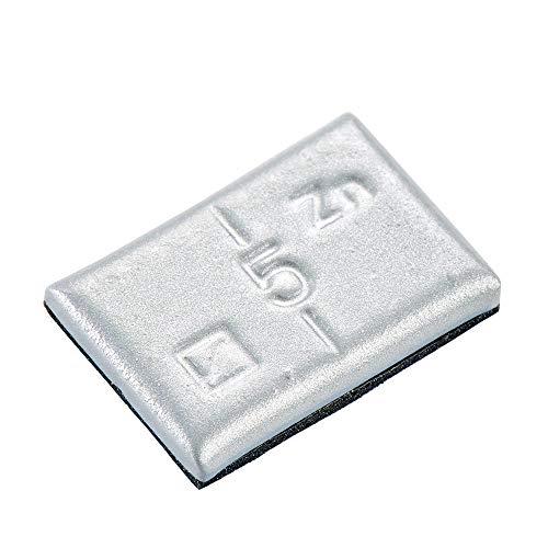Hofmann Power Weight 100x Poids d'équilibrage Autocollants pour Jante en Aluminium 5g Poids d'équilibrage des Jantes en Aluminium - Changement de pneus de Voiture