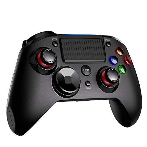 Controller PS4, VicTsing Wireless Joystick Playstation 4, Gaming Joystick Bluetooth Gamepad Controller, Luce LED, Sixaxis, PS4/PC/Android