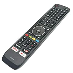 New and high quality Remote Control Compatible for Hisense TV. Fit for: EN3G39 H55N5700UK N6800 50N 55N7 65N7 65N8 75N7 75N9 .