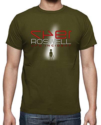 latostadora - Camiseta Roswell UFO Incident para Hombre