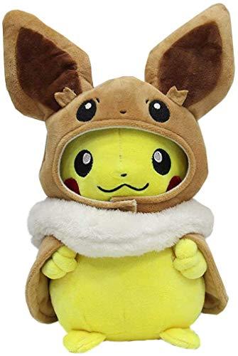 ljs Peluche Pikachu Cosplay + Disfraz Alrededor de 30 cm