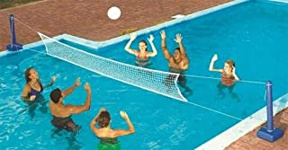 LY1122 for Swimline 9186 for Cross Inground Swimming Pool Fun Volleyball Net Game Water Set