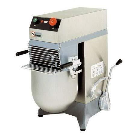 Santos - Batidora mezcladora (10 litros, 8 velocidades, 1000 cl)