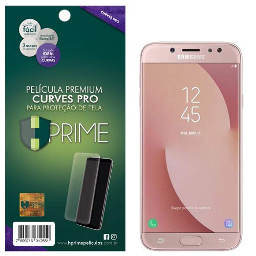 Pelicula HPrime Curves Pro para Samsung Galaxy J7 Pro (J7 2017), Hprime, Película Protetora de Tela para Celular, Transparente