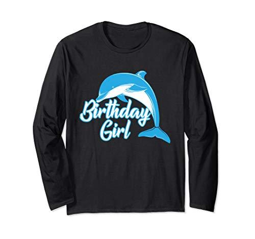 Delphin für Mädchen, Geschenk zum Geburtstag, Delphin Langarmshirt