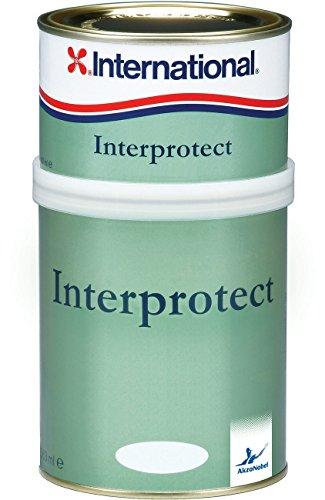International Interprotect / Epoxid grundierung | Grau | 750ML | Zwei komponenten, Schnell trocknend