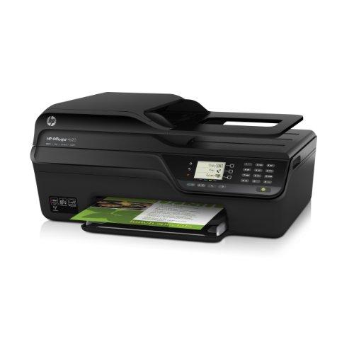 HP Officejet 4620 e-All-in-One Tintenstrahl Multifunktionsdrucker (A4, Drucker, Scanner, Kopierer, Fax, Wlan, USB, 4800x1200)
