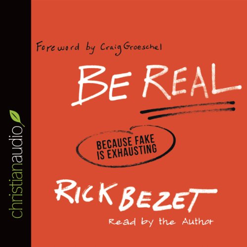 Be Real audiobook cover art