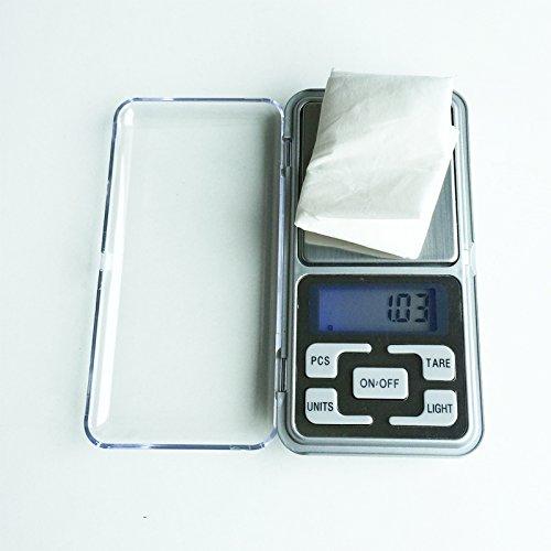 200 g * Mini draagbare elektronische weegschaal gewicht 0.01g digitale LCD backlight met g/oz/CT/TL