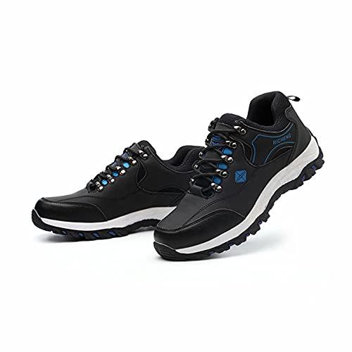 SXZHDZ Chaussures de sécurité Anti-éclatement et Anti-perçage pour Homme, Chaussures de sécurité à Semelle Caoutchouc Kevlar, Chaussures d'électricien isolées, Chaussures de sécurité