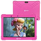 Contixo 10 Inch Kids Learning Tablet Android 9.0 16GB WiFi 8MP Web Camera Preloaded Looney Tunes Education Apps for Children Toddlers Parental Control Kid-Proof Case