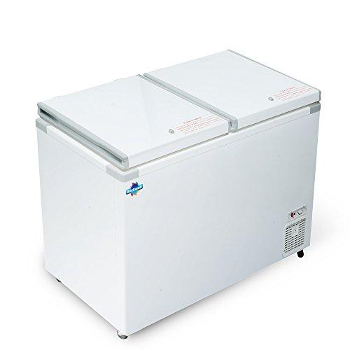 Rockwell Chest Freezer Double Door Hard Top 350 Liters