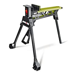 "[ALL STEEL CONSTRUCTION] Built to last and built to hold your most important projects while your hands stay free to use your tools [CAN HOLD A STANDARD 36"" DOOR] With up to 37"" of clamping range and a 3/8"" per step clamping method [1 TON OF CLAMPING ..."