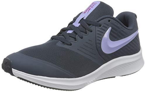 Nike Star Runner 2 Running Shoe, Thunder Blue/Purple Pulse-Fireberry-White, 39 EU