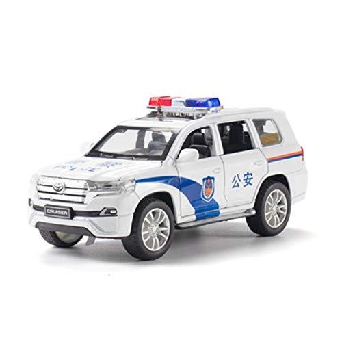 YYQIANG Juguete de aleación de coche para coche, simulación de coche, modelo 1:32, coche de policía, cochecito de bebé para niños de más de 2 años de edad (color: coche policía)