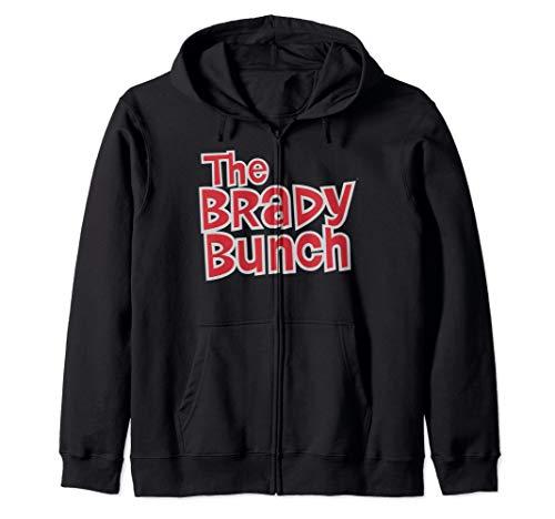 The Brady Bunch Logo Zip Hoodie