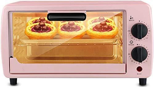 9L Mini Forno regolabile Temperatura 0-230  e 60 Minute Timer Tre-Strato cottura posizione domestica cottura elettrico forno di cottura torta di pane automatico multifunzionale completa con accessori