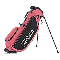 top 10 ping ladies golf clubs Titleist Players 4 Stand Island Golf Bag Red / Black