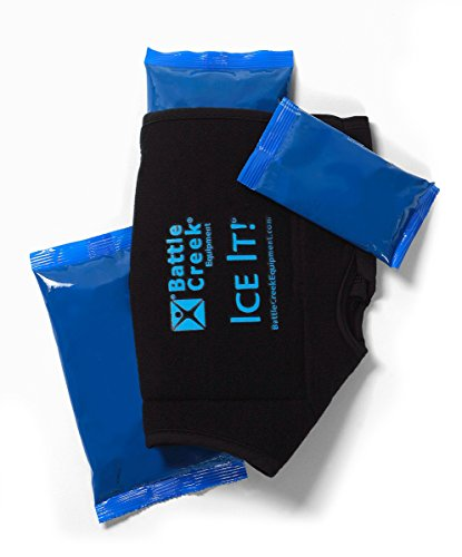 """Cold & Hot Therapy System Ice Pack Wrap for Ankle, Elbow and Foot - Ice It! MaxCOMFORT™ (Ankle/Elbow/Foot Design; 10 ½"""" x 13"""") - F30514"""