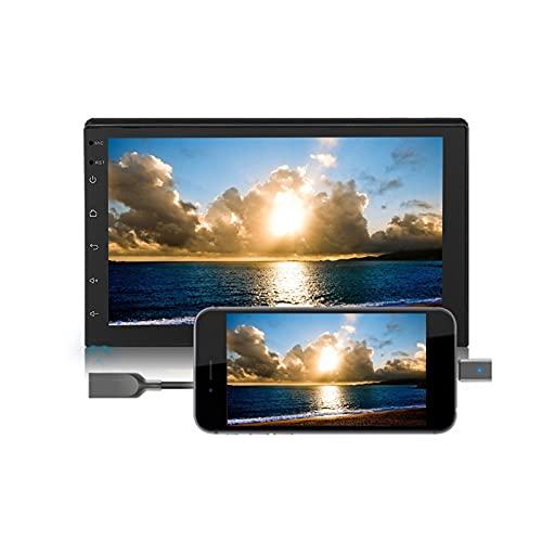 Tangxi Android 8.1 Autoradio Stereo 2 DIN 7 Pollici Touch Screen Navigazione GPS con Bluetooth 1G RAM + 16G Rom, Supporto WiFi Bluetooth SWC, Immagine di Retromarcia