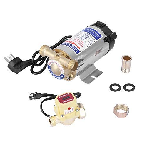 90W Circulateur Chauffage Central Pompe /à Eau Haute Pression Automatique Booster Pompe pour douche solaire et Jardin 20l//min