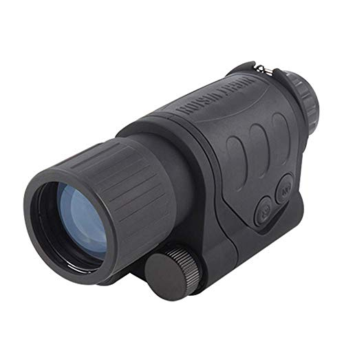 Outdoor Binoculars for Adults kids HD Professional HD Professional 5 X 44 Monocular Telescopes Digital Night Vision Binoculars 200M Range Night Vision Monocular Hunting Camera V Best Gift Choice for B