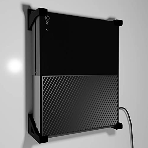 XBOX ONE - Supporto da parete (set di 4 angoli), colore: Nero